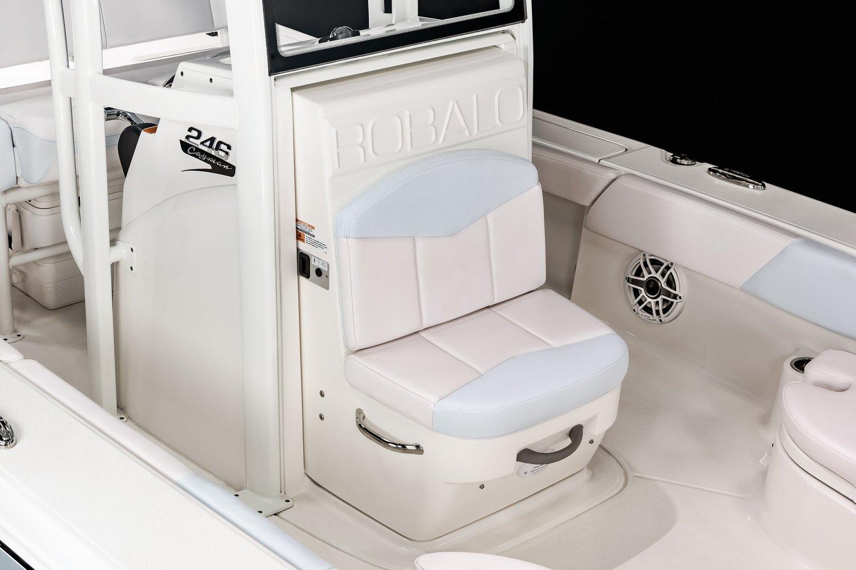 246 Cayman - Console Door Seat