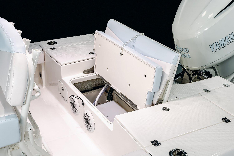 246 Cayman - Transom Utility Access