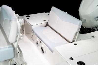 246 Cayman - Transom Bench Seat