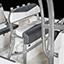 Leaning Post - Brushed Anodized Aluminum