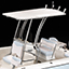 T-Top Anodized Aluminum with 4 Rod Holders
