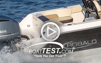 R242EX (2018) BoatTest.com